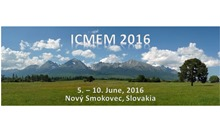 Team Society : First Announcement - ICMEM 2016 in Slovakia